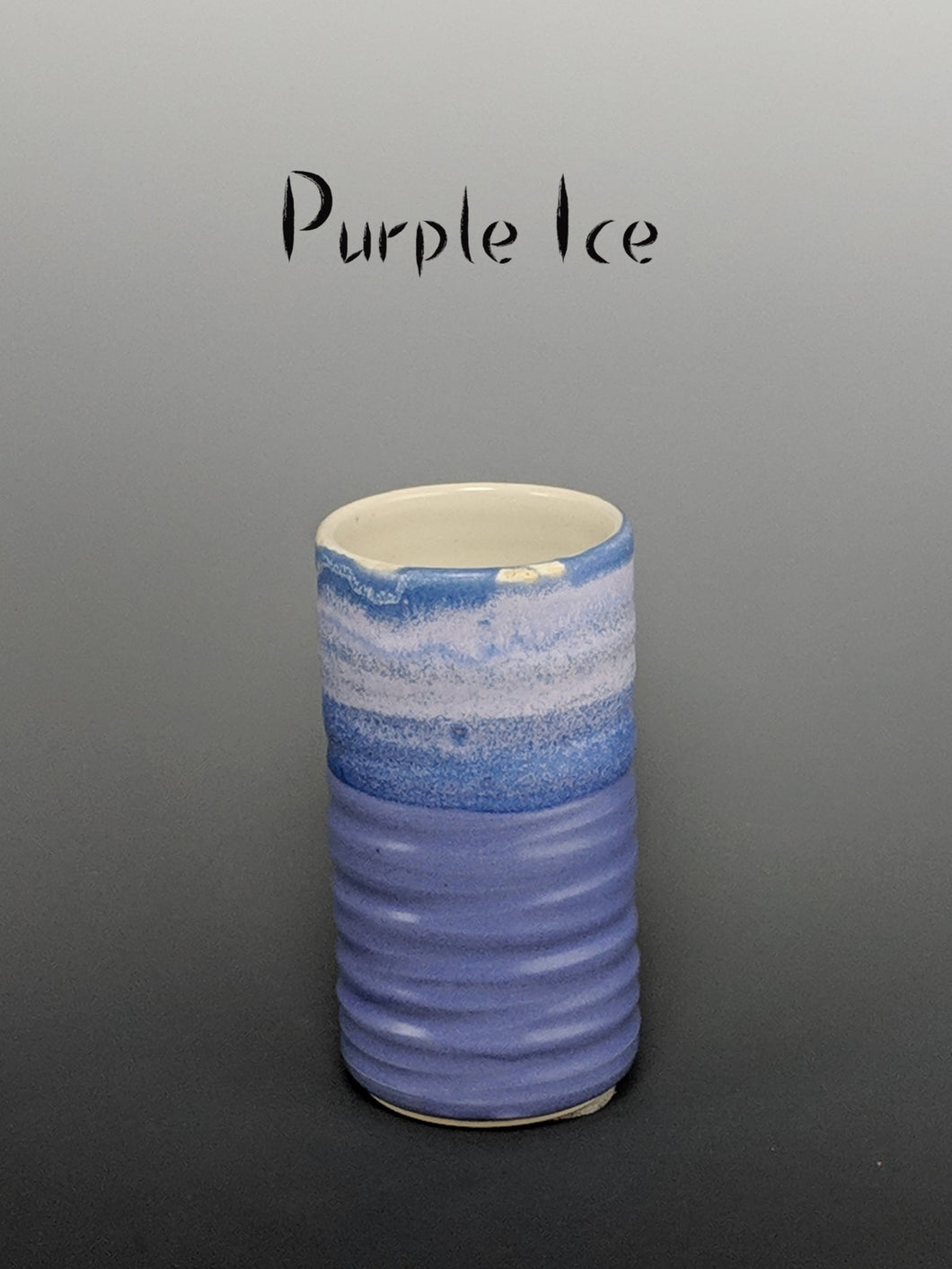 Pottery cup, tumbler style