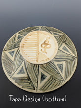 Load image into Gallery viewer, Pottery bowl, stoneware, tapa design