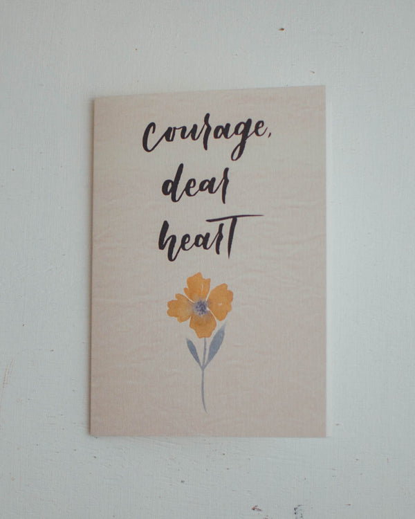 Courage Card (85-3)
