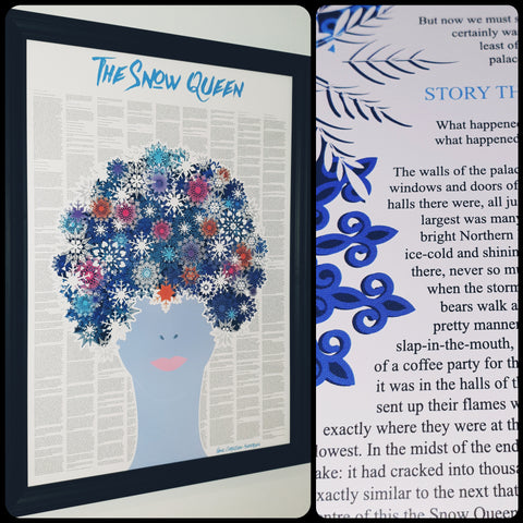 The Snow Queen Full Story Text Print