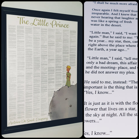 The Little Prince Full Novel Text Print