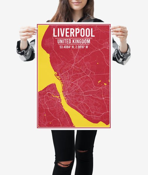 Liverpool City Map