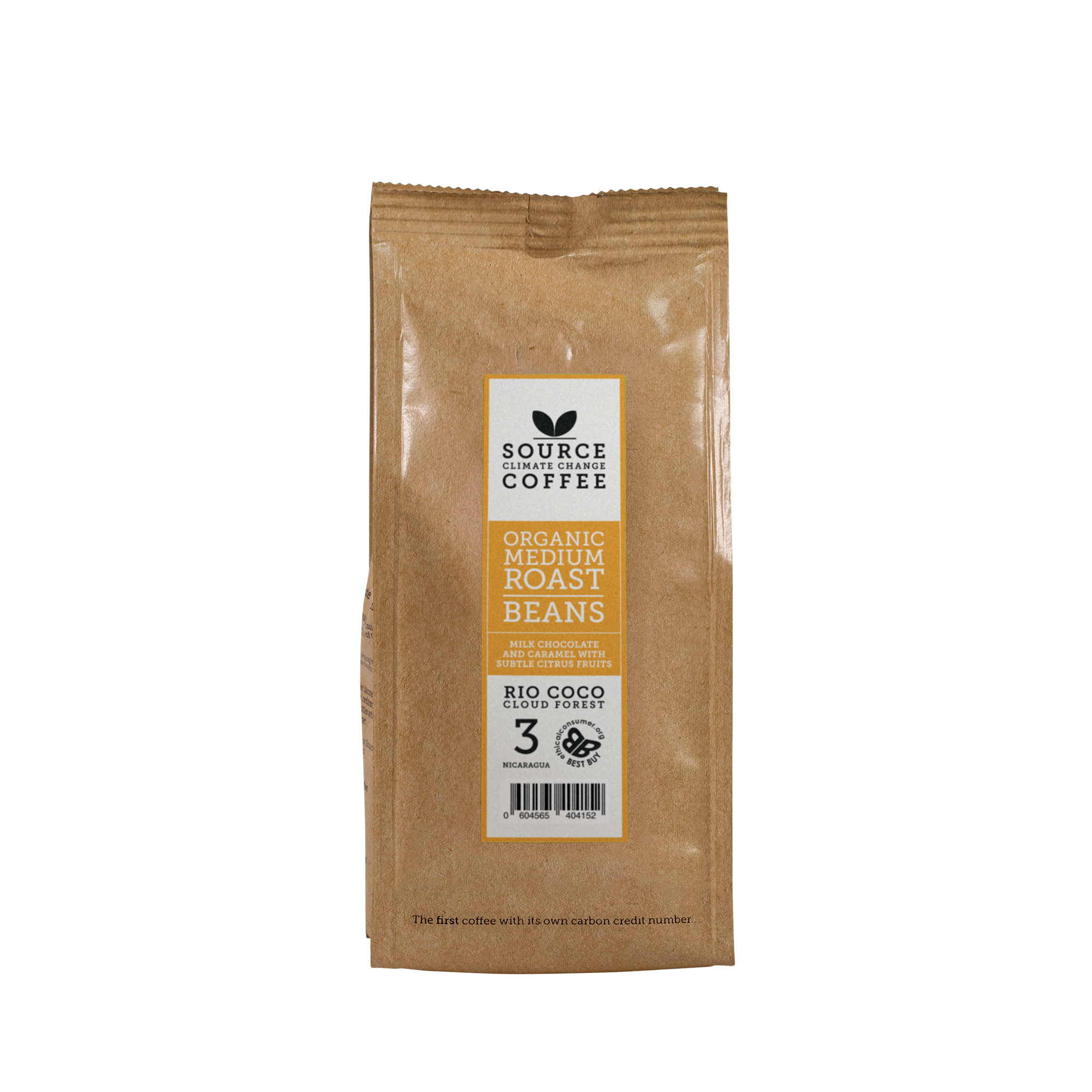 Organic Rio Coco Cloud Forest Coffee: Nicaragua Strength 3 - Source Climate Change Coffee
