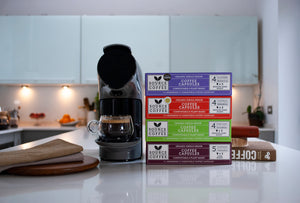 50 x Organic & Biodegradable Nespresso ® Compatible Coffee Capsules Monthly Subscription - Source Climate Change Coffee