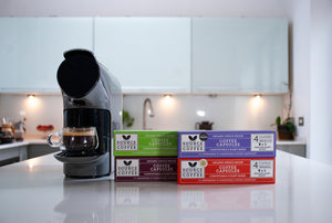 3 Month Coffee Subscription Gift of Biodegradable Nespresso ® Coffee Capsules - Source Climate Change Coffee