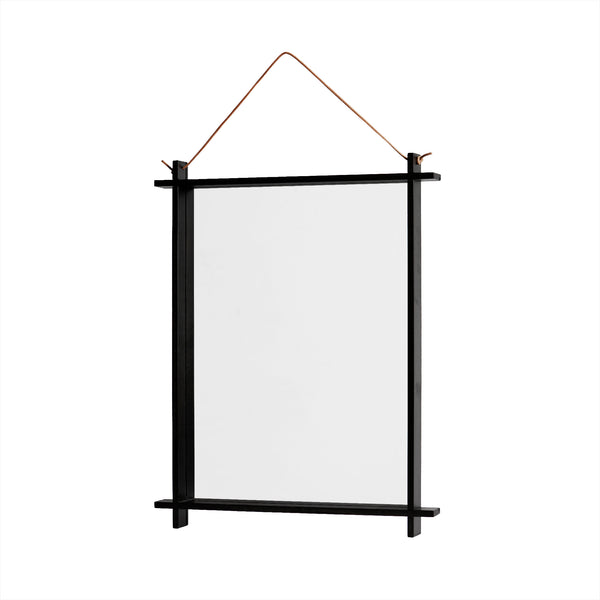 Square Mirror - Black