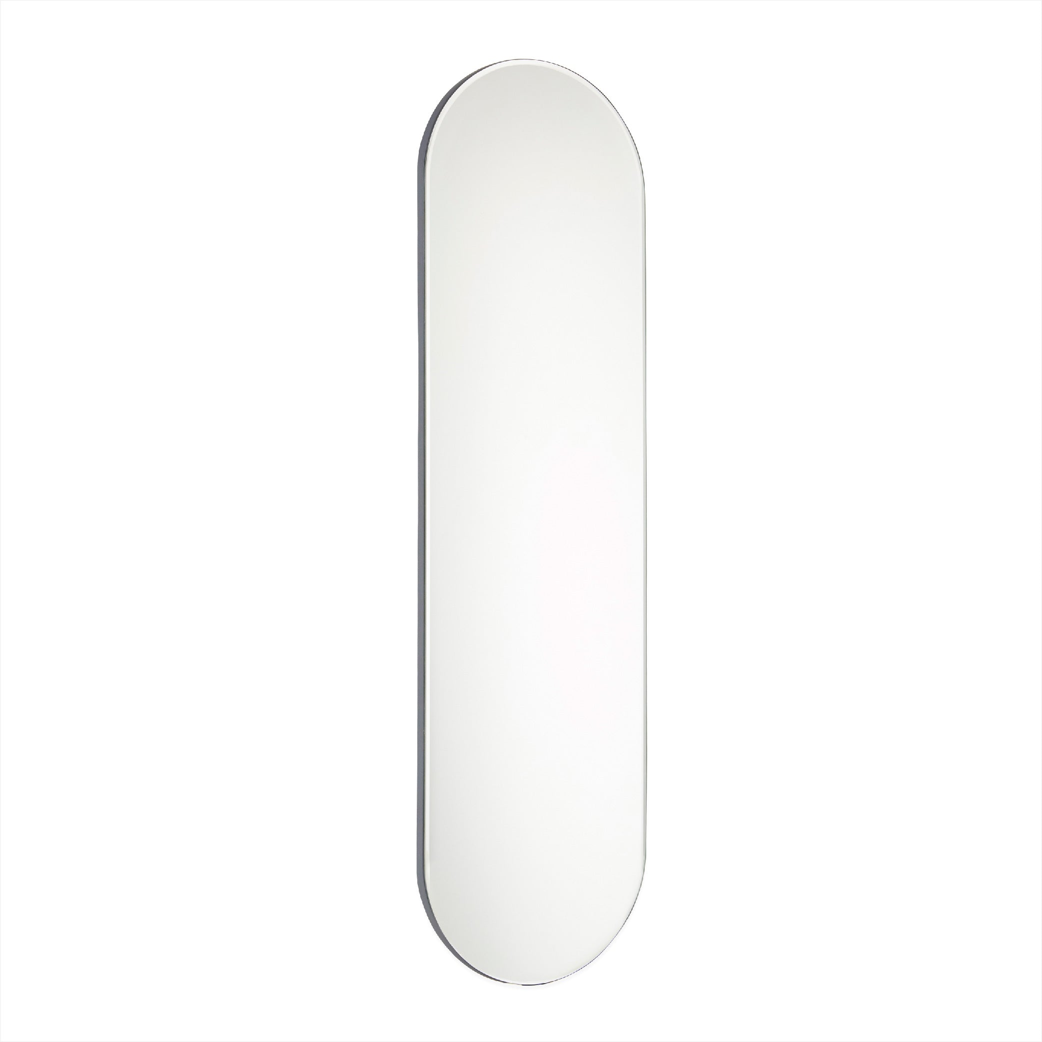Renga Oval Mirror - Anthracite