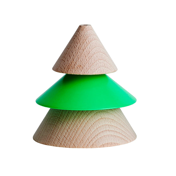 XMAS Tree Ornament - Neon Green