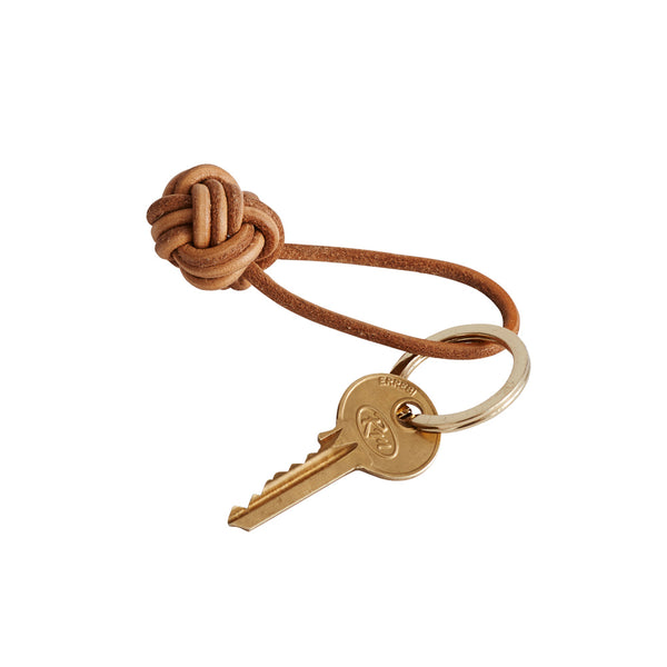 Keyring Knot - Leather