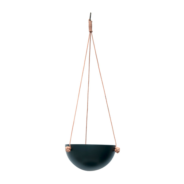 Pif Paf Puf Hanging Storage - 1 Bowl, Small - Dark Grey