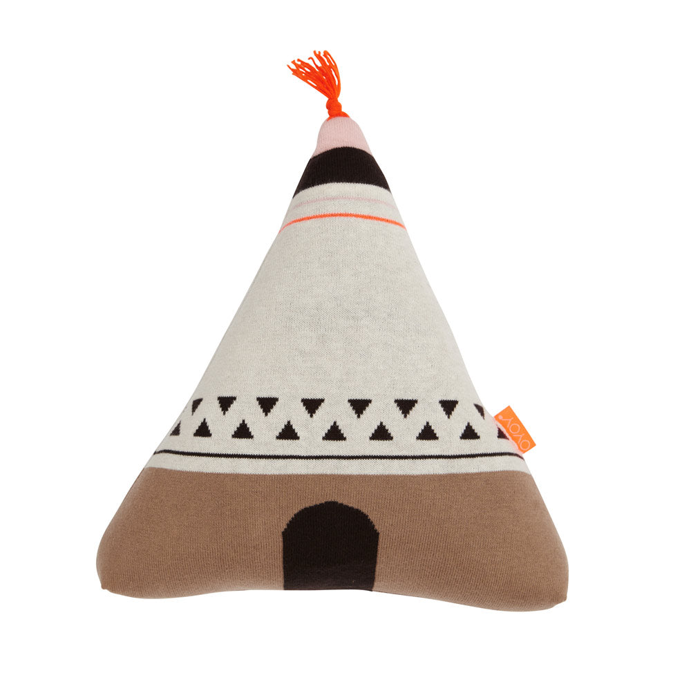 Wigwam Cushion - Orange