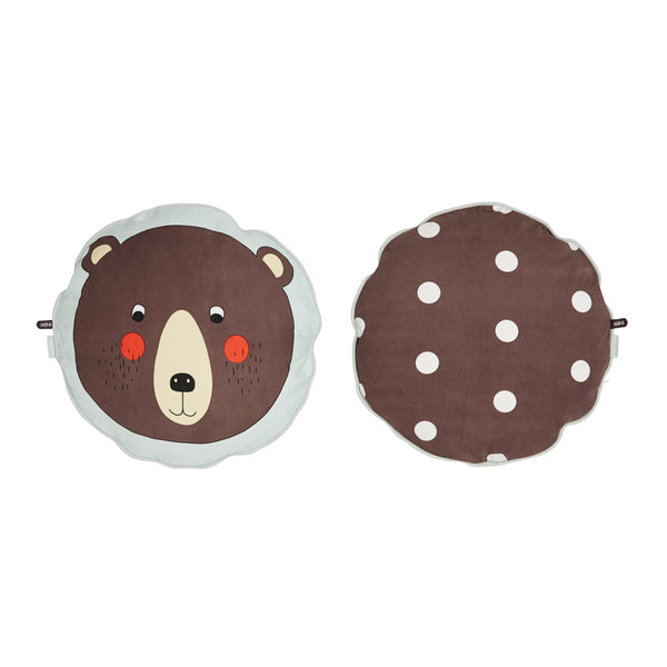Bear Cushion - Brown