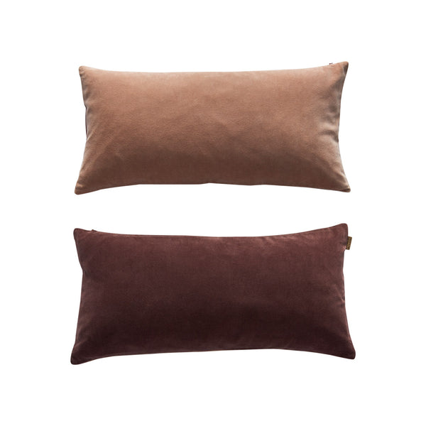 Lia Cushion - Nutmeg / Rose