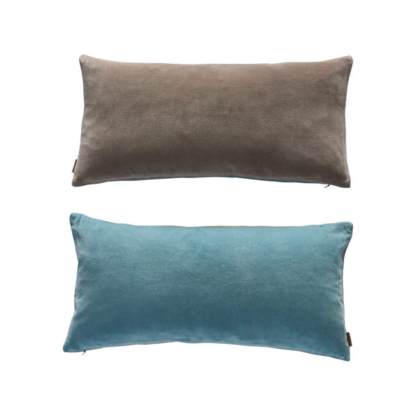 Lia Cushion - Tourmaline / Grey