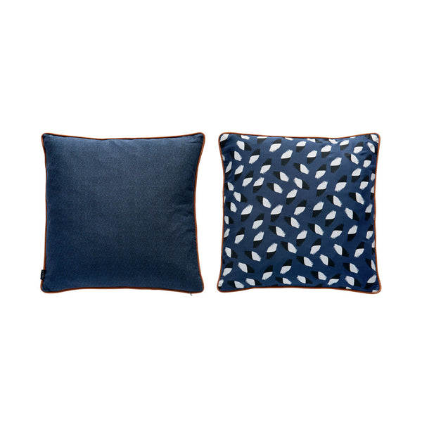 Paint Cushion - Dark Blue