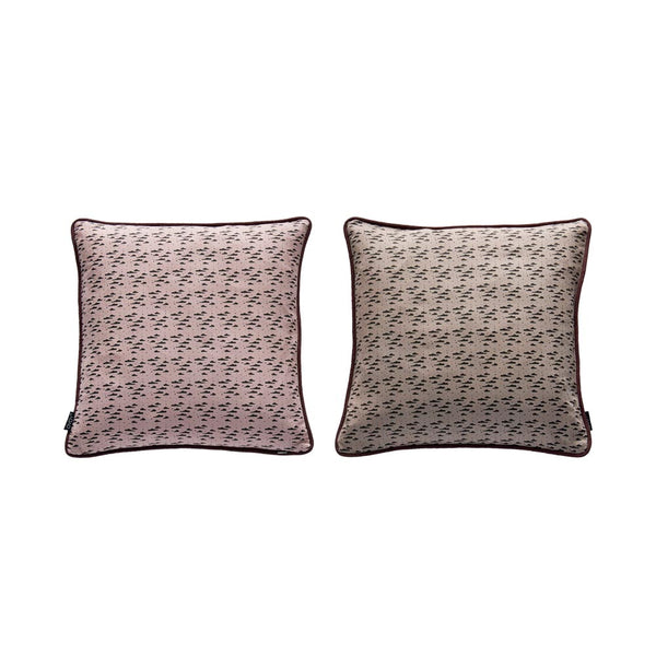 Nube Cushion - Nutmeg / Rose