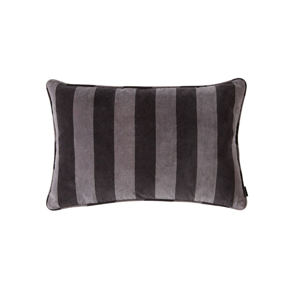 Confect Velvet Cushion - Anthracite / Dark Grey