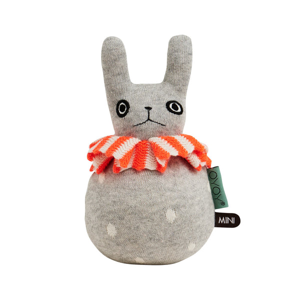 Roly Poly - Rabbit - Light Grey