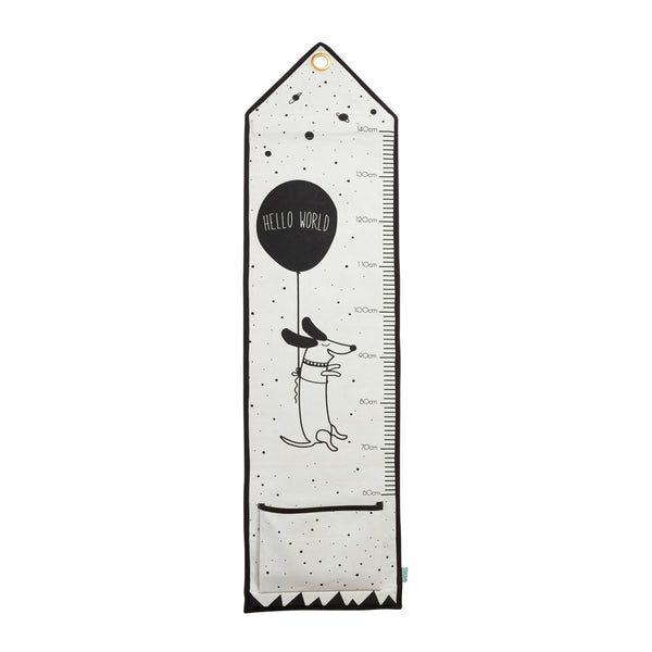 Hello World - Measuring Board - Offwhite / Black