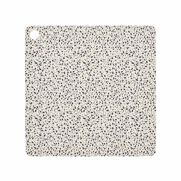 Placemat Terrazzo - 2 Pcs/Pack - Offwhite