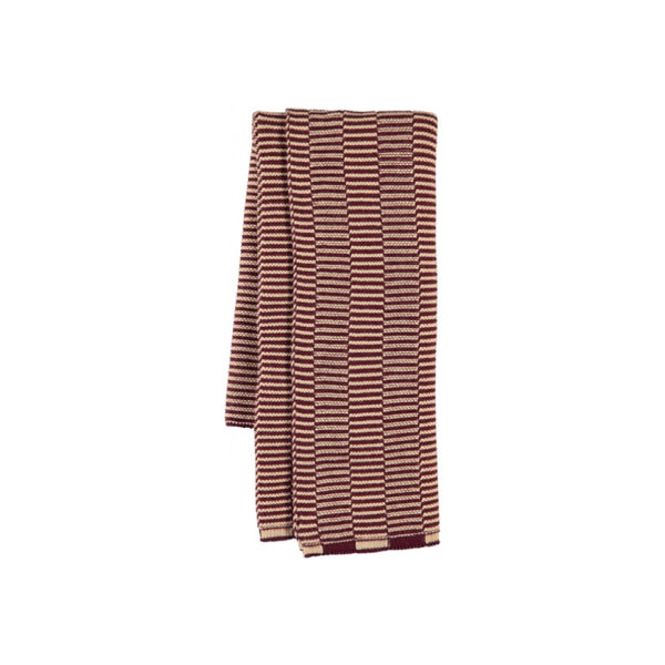 Stringa Mini Towel - Aubergine / Rose