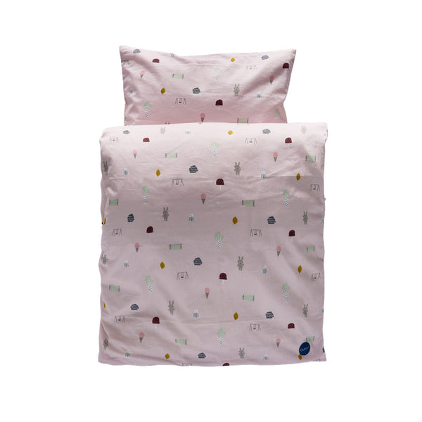 Happy Summer Bedding - Junior - Rose