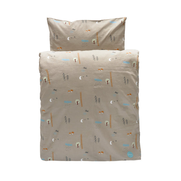 Happy Forest Bedding - Junior - Light Brown