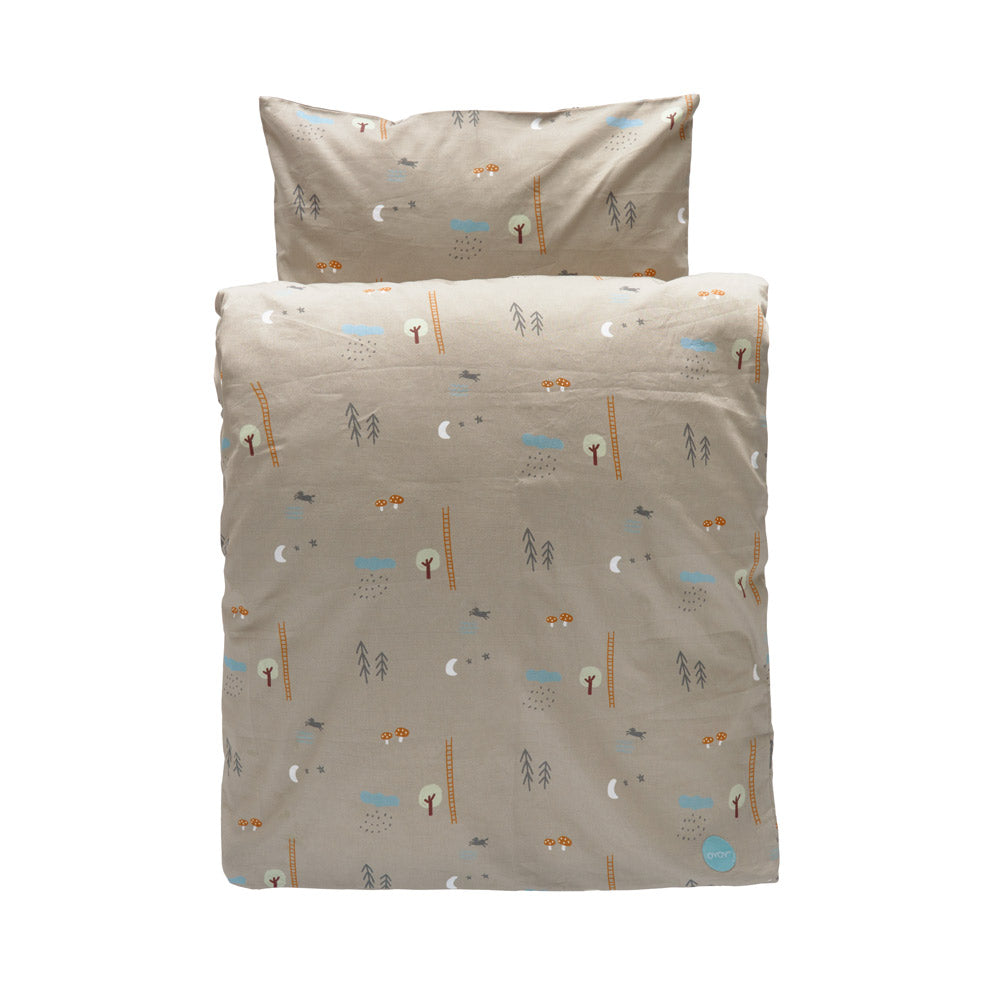 Happy Forest Bedding - Baby - Light Brown