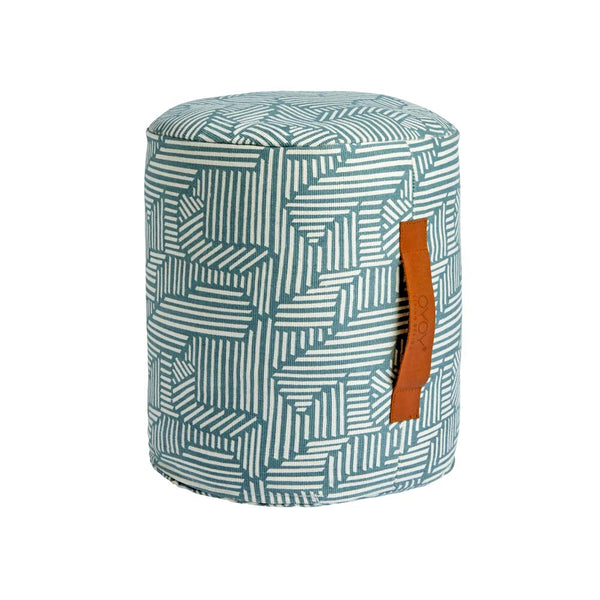 Mini Paddy Pouf - Tourmaline
