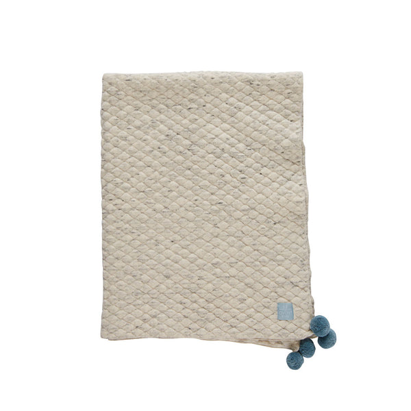 Kami Baby Blanket - Light Grey