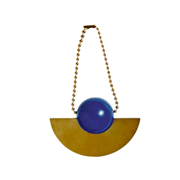Lucia Christmas Ornament - Blue