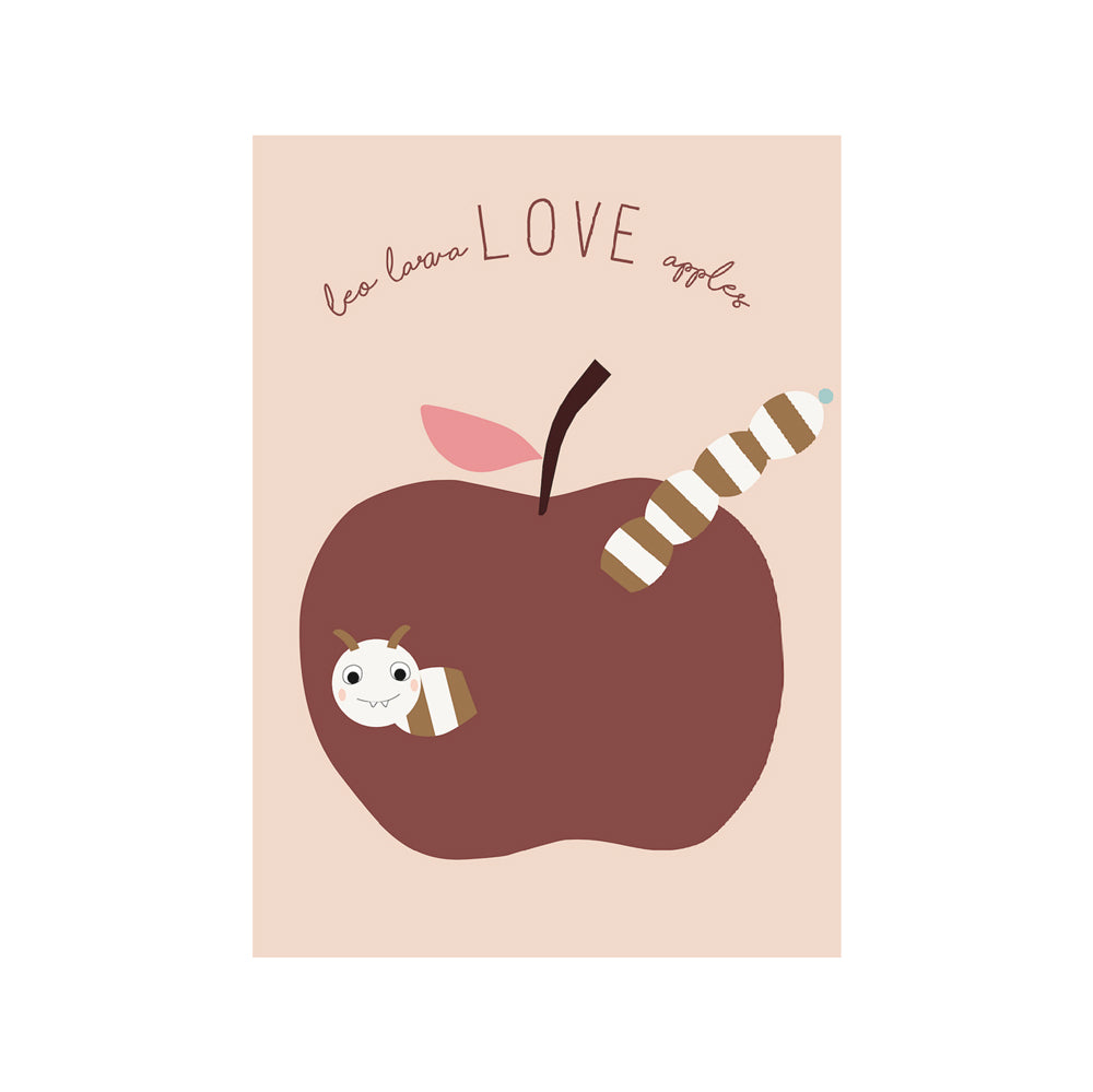 Poster - Love Apples - Powder