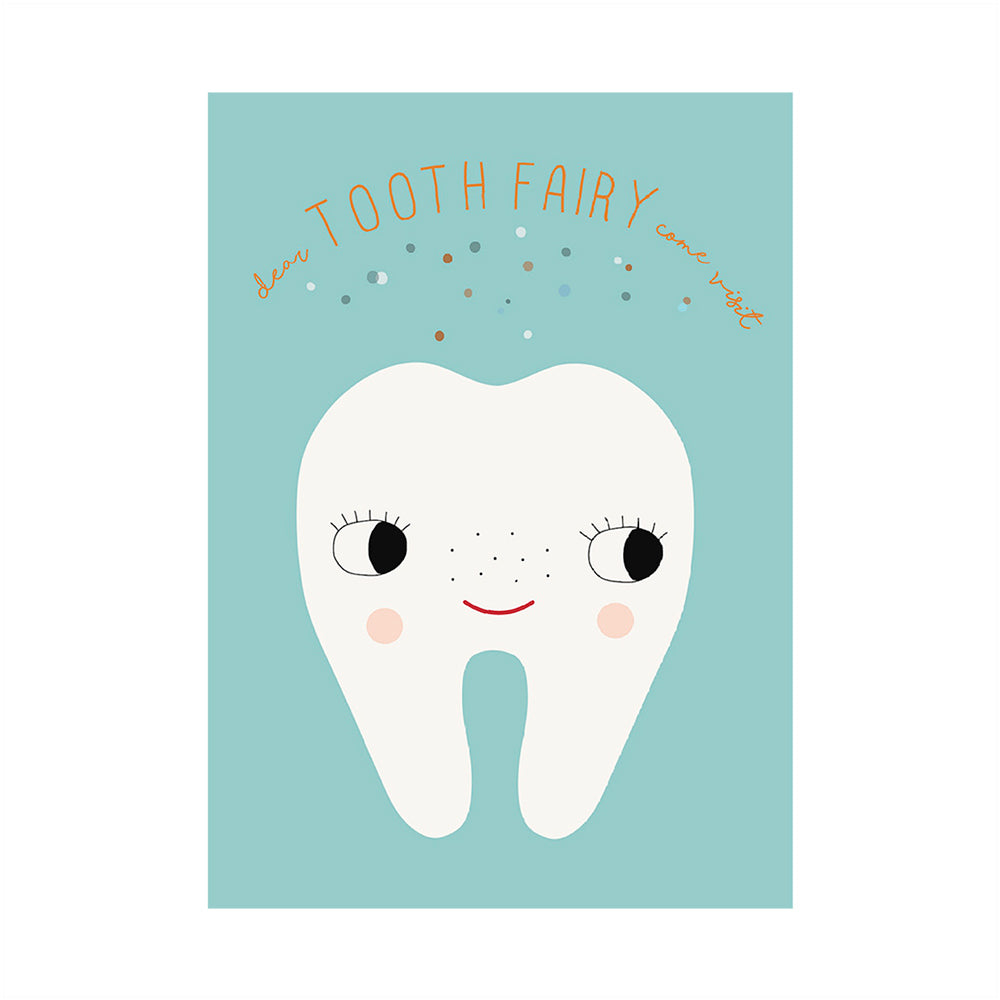 Poster - Tooth Fairy - Pale Blue
