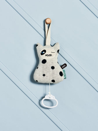 Cat Music Mobile - Offwhite