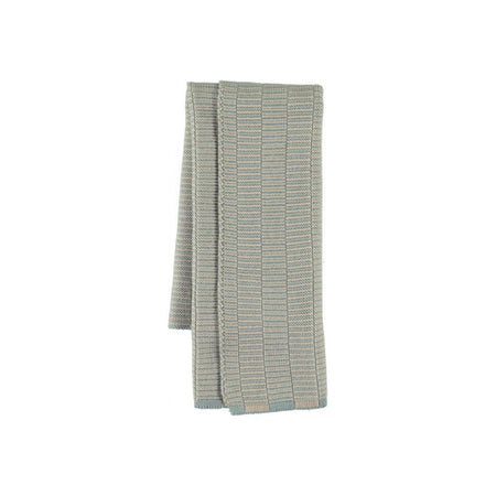 Stringa Mini Towel - Pale Blue / Camel
