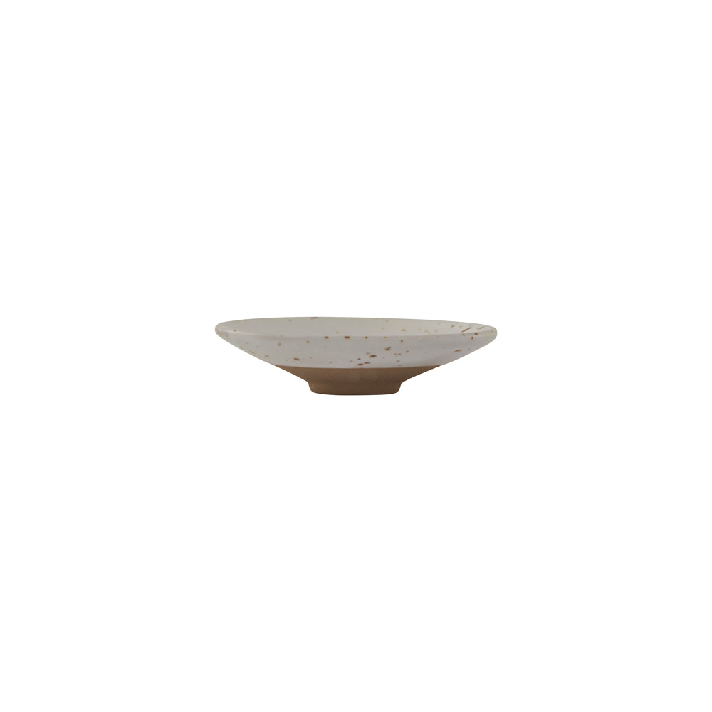 Hagi Mini Bowl - White / Light Brown