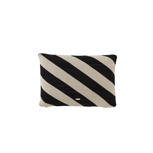 Takara Cushion - Offwhite / Black