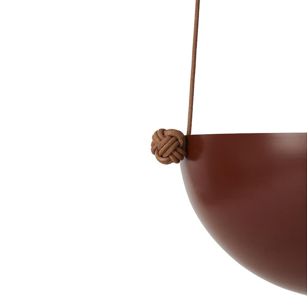Pif Paf Puf Hanging Storage - 1 Bowl, Small - Nutmeg
