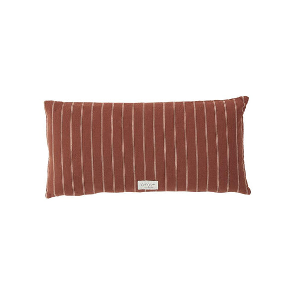 Kyoto Cushion - Long - Dark Sienna