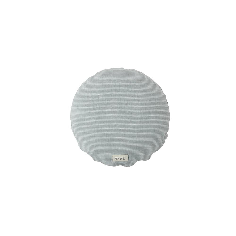 Kyoto Cushion - Round - Dusty Blue