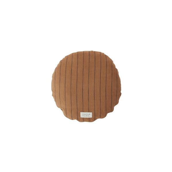 Kyoto Cushion - Round - Dark Caramel