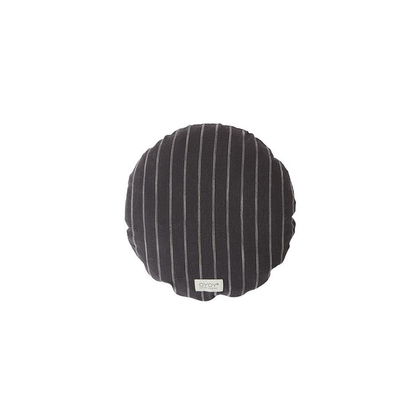 Kyoto Cushion - Round - Anthracite