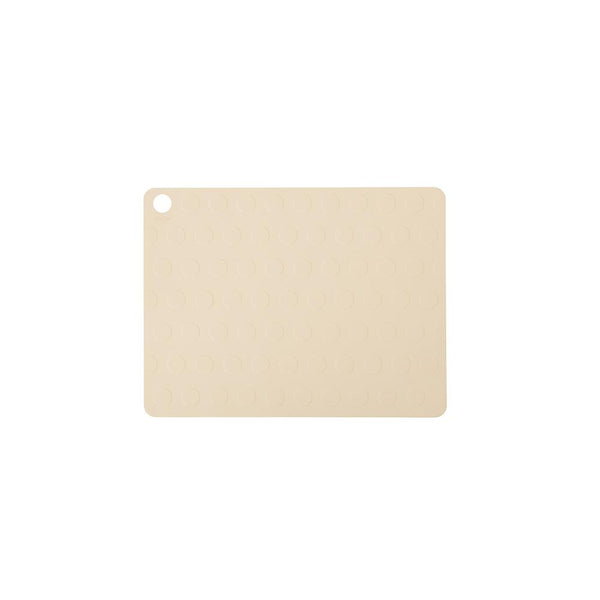 Placemat Dotto - 2 Pcs/Pack - Vanilla
