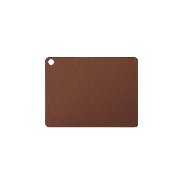 Placemat Dotto - 2 Pcs/Pack - Nutmeg