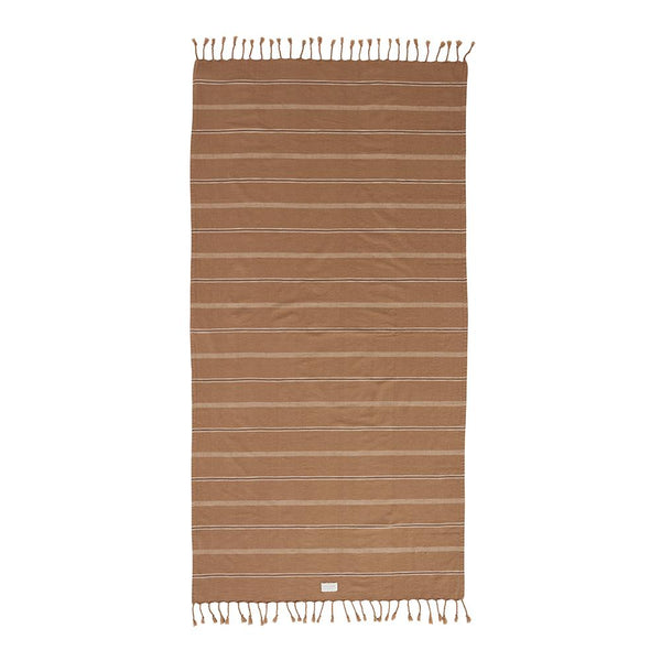 Kyoto Bath Towel - Dark Caramel