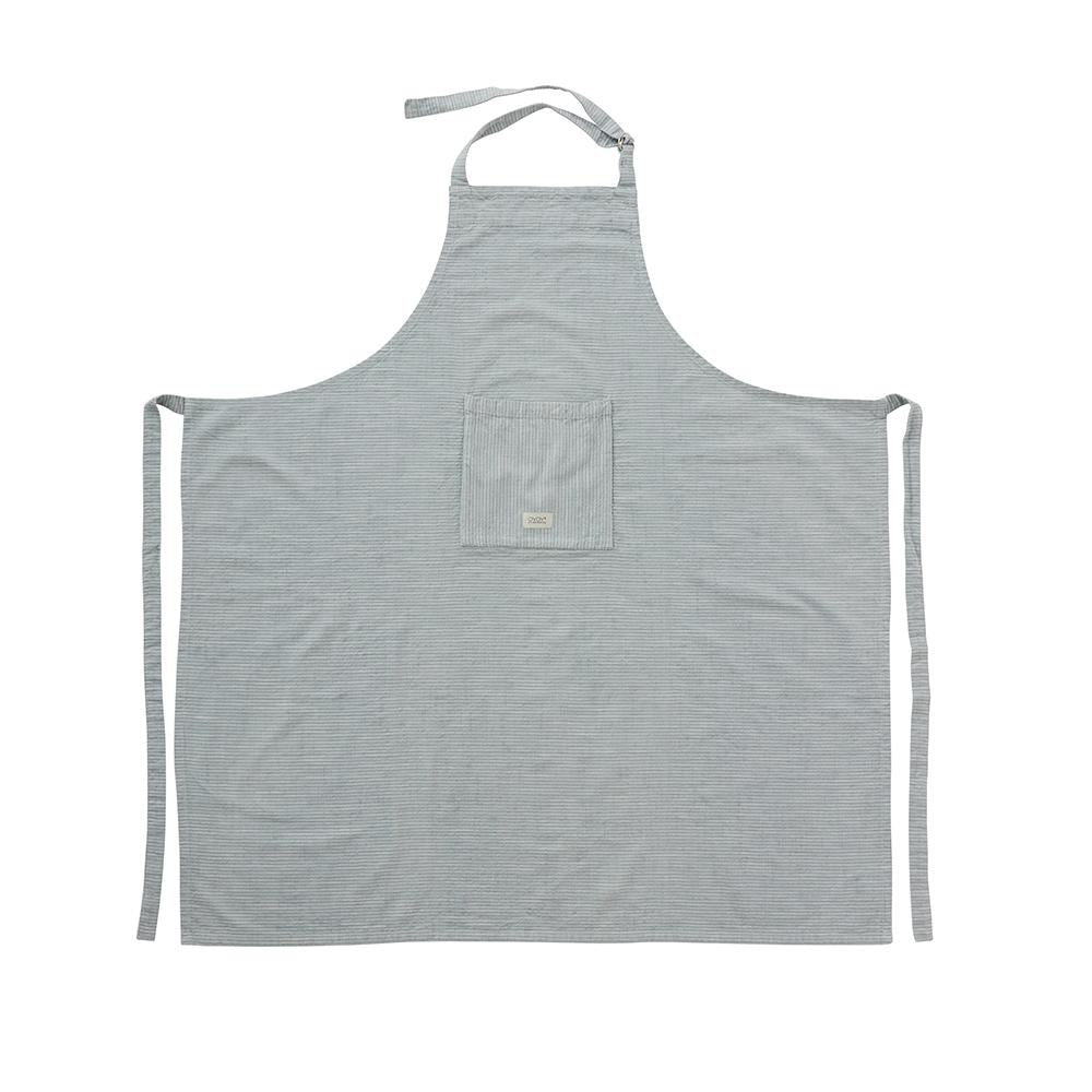 Gobi Apron High - White/Dusty Blue