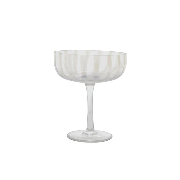 Mizu Coupe Glass - 2 pcs/set - Clear