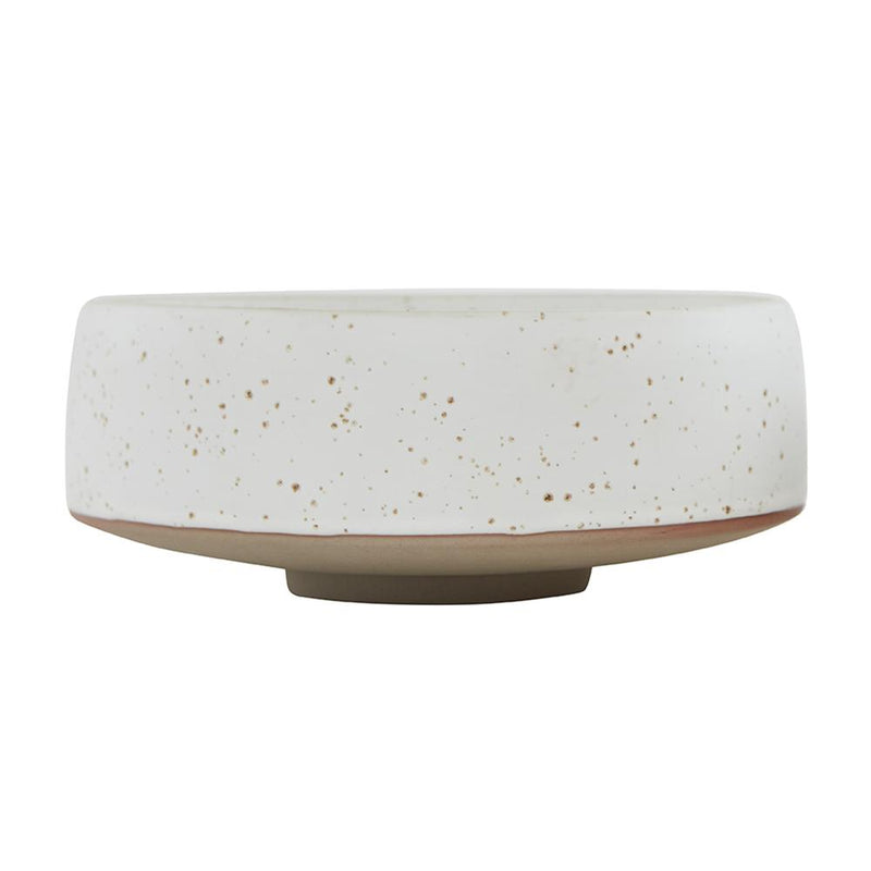 Hagi Bowl - Large - White/Light Brown