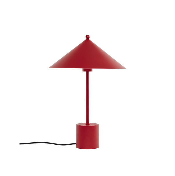 Kasa Table Lamp - Cherry Red