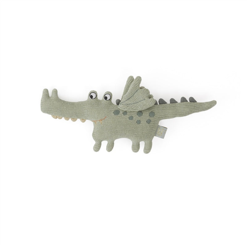 Darling Rattle - Baby Buddy Crocodile - Green